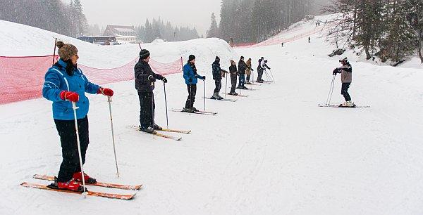 Prima zi la schi
